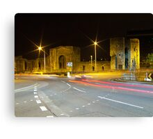 Newport Castle, Wales Canvas Print