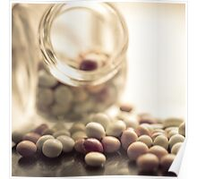 smarties, glass, old style Poster