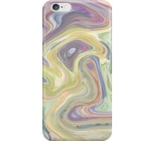 Pastel Swirl Mixture iPhone Case/Skin