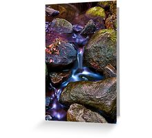 Streams of Colour Greeting Card