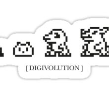 Digivolution Sticker