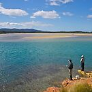 Fishing, Mallacoota Inlet, Victoria. by johnrf