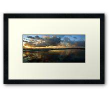 Kintra Sunset III Framed Print