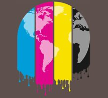 4 Colors Paint Our World Unisex T-Shirt