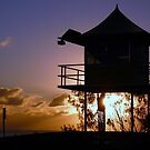 Life Guard Tower........ Currumbin Qld by BK Photography