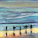 Day at Surfer Joe's by Riccoboni by RDRiccoboni