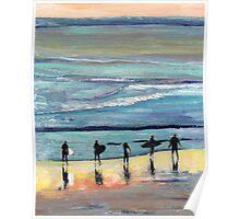 Day at Surfer Joe's by Riccoboni Poster