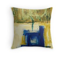 THE BLUE BELOW Throw Pillow