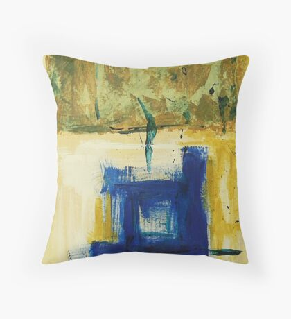 THE BLUE BELOW Throw Pillow