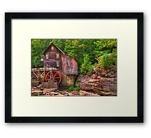 The Glade Creek Grist Mill - Layland, WV Framed Print