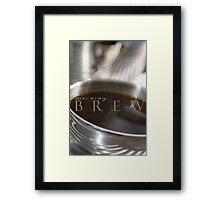 Morning Brew © Vicki Ferrari Framed Print