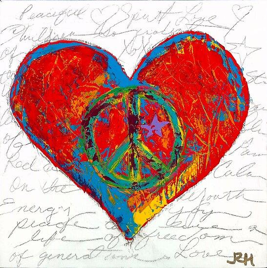 Rasta Heart by jrheartworks