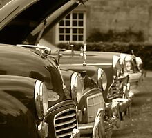 Classic Morris Minor by Natalie Wright