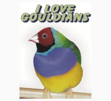 I love Gouldians by Angela McIntyre
