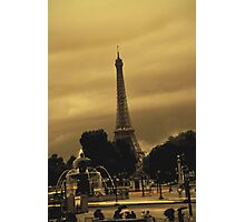 October in Paris Photographic Print