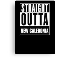 Straight outta New Caledonia! Canvas Print