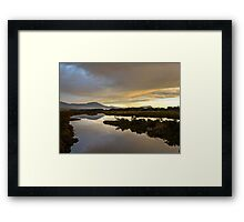 Marion Bay Wetlands Framed Print