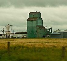 Abandoned Grain Elevator, Alberta by ArianaMurphy