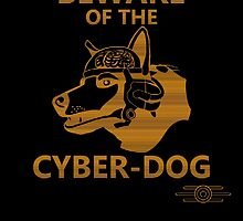 Beware of the Cyber-dog Mojave Desert Orange by explosivebarrel