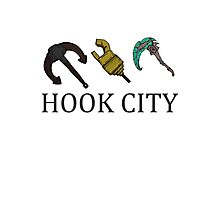 Hook City Babe ! Photographic Print