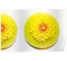 Yellow Duo Poster