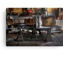 Weight Watcher Metal Print