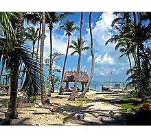 Secret Beach in Key Largo Photographic Print