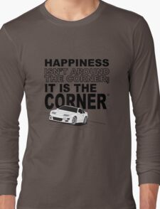 Happiness is the Corner Long Sleeve T-Shirt