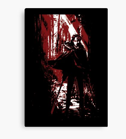 Bloody Captain Canvas Print