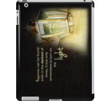 Dumbledore Harry Potter Happiness Quote iPad Case/Skin