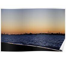 Port Hedland Harbour Poster