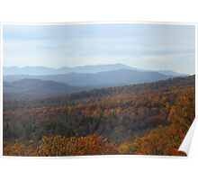 Pisgah National Forest Poster
