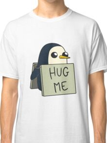 Adventure Time - Hug Me Penguin Classic T-Shirt