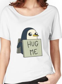 Adventure Time - Hug Me Penguin Women's Relaxed Fit T-Shirt