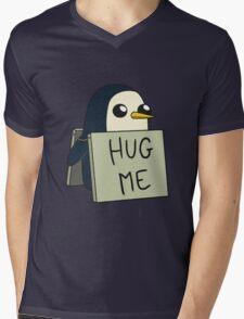 Adventure Time - Hug Me Penguin Mens V-Neck T-Shirt