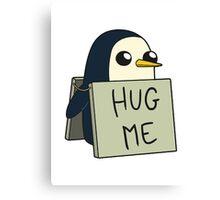 Adventure Time - Hug Me Penguin Canvas Print