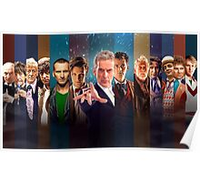 Doctor Who - Faces Poster