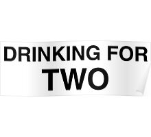 Drinking For Two Poster