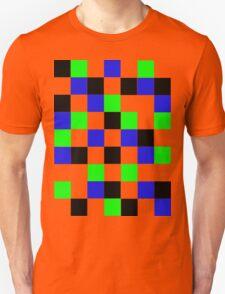 Blocks - Blue T-Shirt
