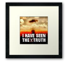 I Have Seen the Truth by Raphael Terra Framed Print