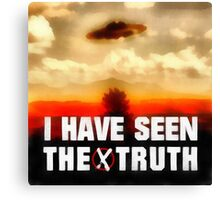 I Have Seen the Truth by Raphael Terra Canvas Print