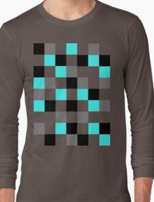 Blocks - Grey Long Sleeve T-Shirt