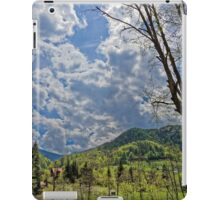 Countryside hills Rau Sadului iPad Case/Skin