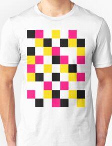 Blocks - Pink Unisex T-Shirt
