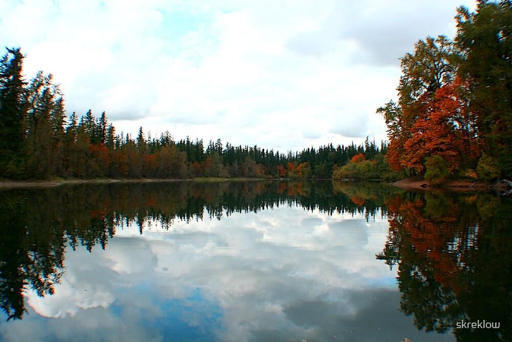 Fall Reflections at Deep Lake by skreklow