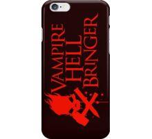 Vampire Hell Bringer  iPhone Case/Skin