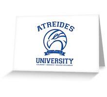 Atreides University [Blue] Greeting Card