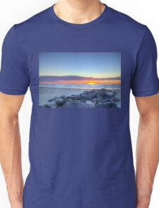 Sunrise at the rocks_1 Unisex T-Shirt