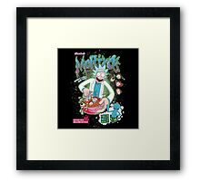Mortyo's Spacey Cereals Framed Print