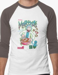 Mortyo's Spacey Cereals Men's Baseball ¾ T-Shirt